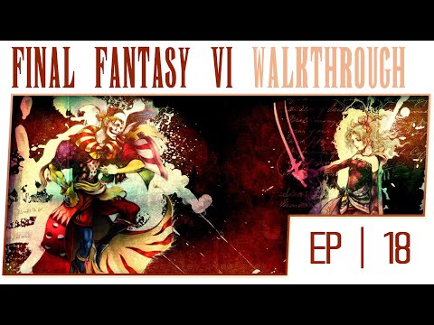 Final Fantasy 6 Advance Gameplay Walkthrough - Part 18 - The Cave at the Sealed Gate