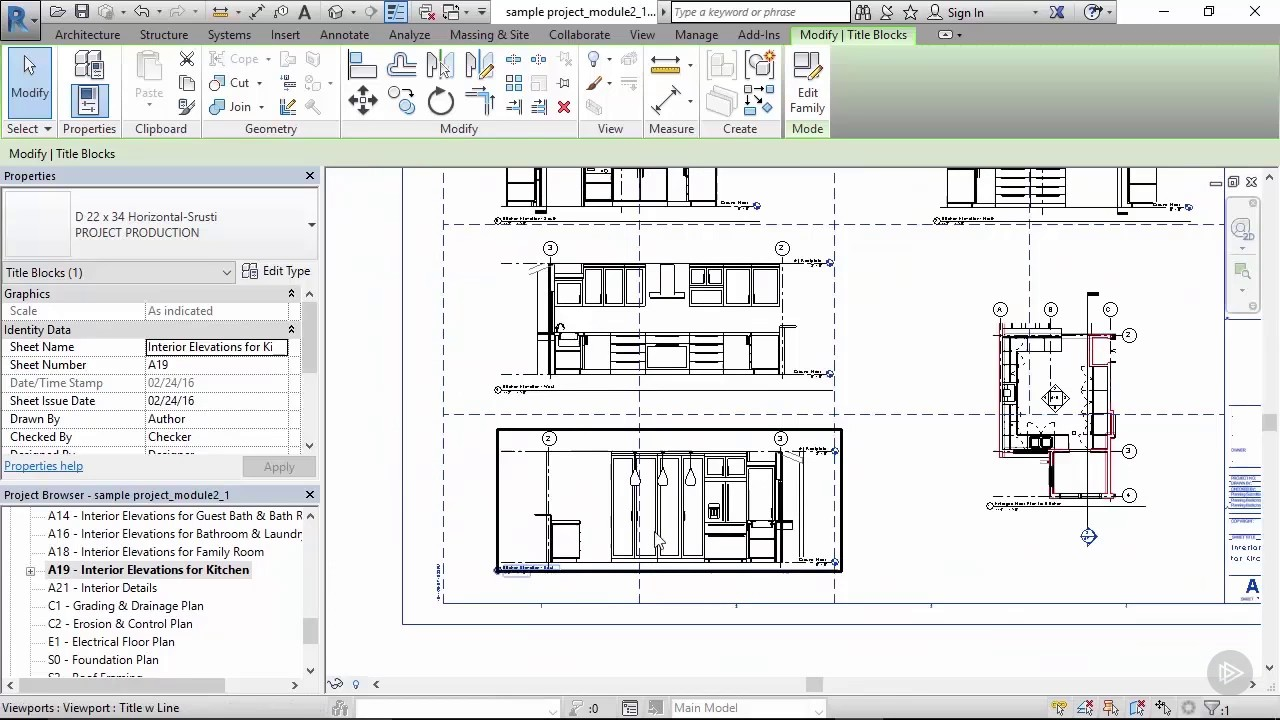 Revit Elevation Key Plan : Setting up elevations in revit youtube