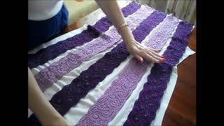 платье из ленточного кружева часть 2