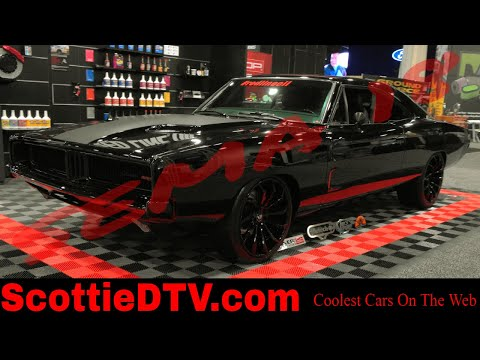 1969 Dodge Charger Hellcat Powered Street Machine 2018 SEMA Show