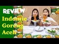 REVIEW INDOMIE GORENG ACEH - #adeltheabalfoodblogger | Adel Ivanka