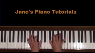 Windstruck At The Cafe Piano Cover and Tutorial
