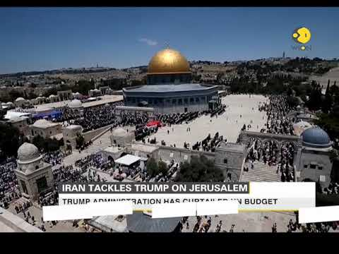 Iran tackles Trump on Jerusalem