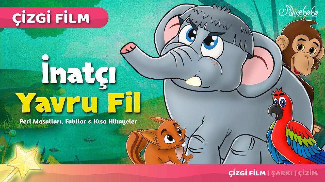 İnatçı Yavru Fil çizgi film masal 46 - Adisebaba Çocuk Çizgi Film Masallar