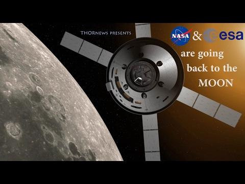 NASA & ESA are sending Humans back* to the Moon!