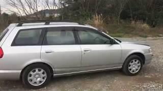 Видео-тест автомобиля Nissan Wingroad (Whny11-005094, Qg18de, 4WD, 1999г)