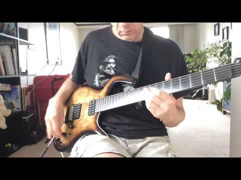 Requiem For A Sinner - A guitar solo tribute to Frank Marino