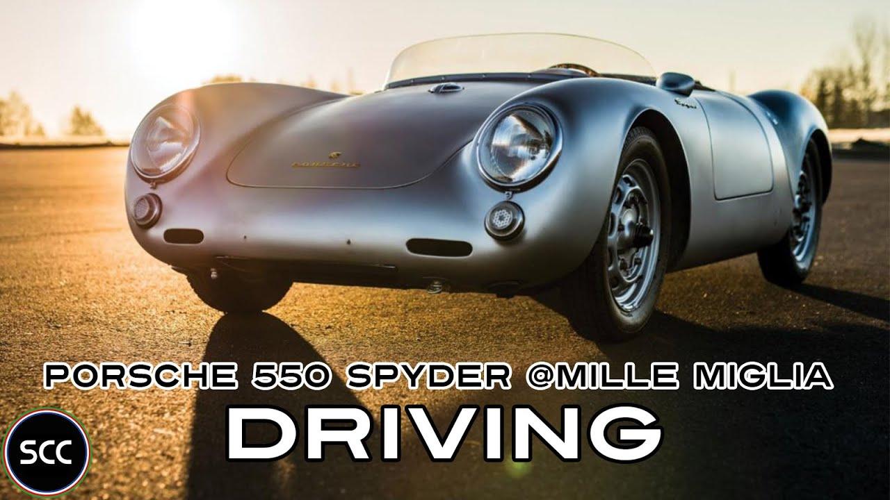 porsche 550 spyder rs mille miglia 2014 jacky ickx engine sounds scc tv