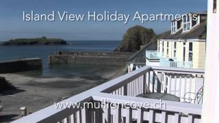 Island View Holiday Apartments in Mullion Cove in Cornwall