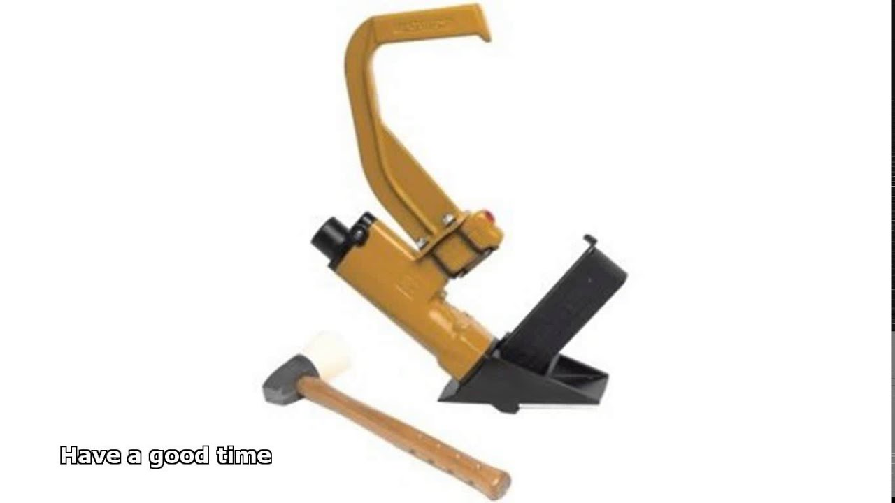 Hardwood floor nail gun youtube for Hardwood floors nail gun