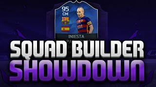 SQUAD BUILDER SHOWDOWN WITH ANDY!!! TOTY INIESTA!!!