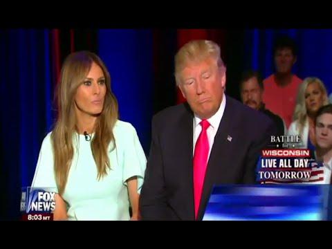 FOX GOP TOWN HALL   DONALD TRUMP AND MELANIA TRUMP   SEAN HANNITY   MILWAUKEE, WI 4 4 2016   Part 02