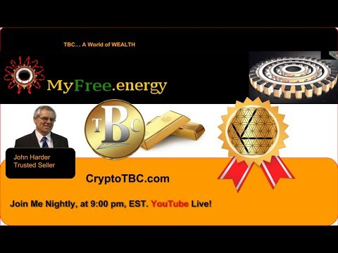 Harnessing of Free Energy, and Global Abundance. Live on YouTube May 22, 2018, at 9:00 pm, EST