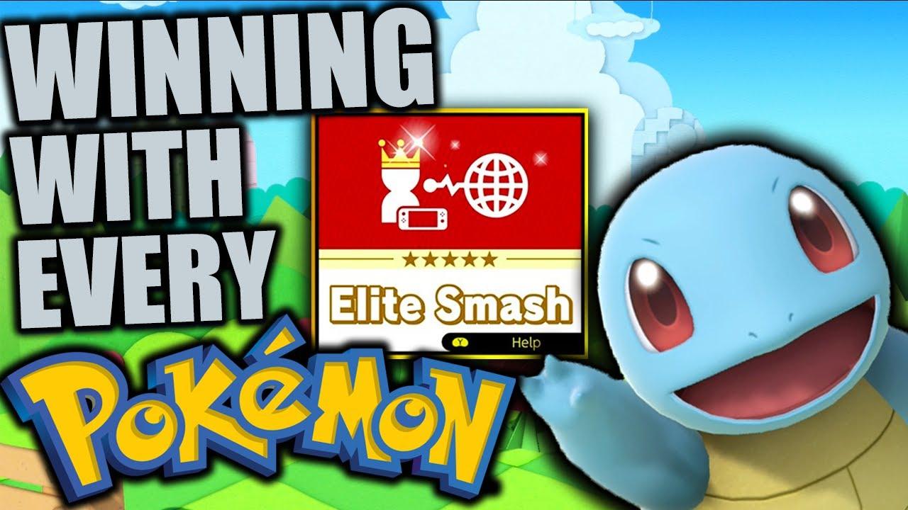Winning With Every Pokemon on Elite Smash - Super Smash Bros. Ultimate