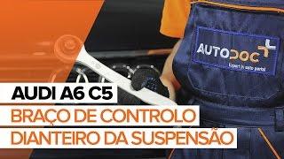 Como mudar Cabo de freio de estacionamento AUDI A6 Avant (4B5, C5) - tutoriais