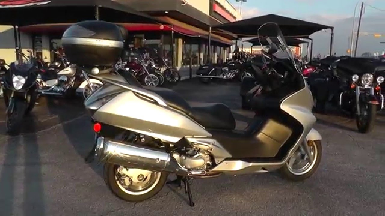 500118 - 2007 Honda Silverwing - Used Motorcycle For Sale - YouTube