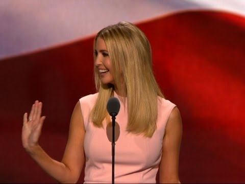 Ivanka Trump Introduces Father Donald to RNC - 동영상