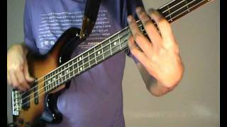 The Bee Gees - You Should Be Dancing - Bass Cover