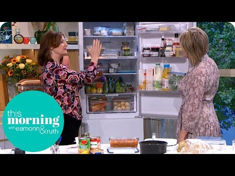 Top Tips on How to Organise Your Fridge | This Morning