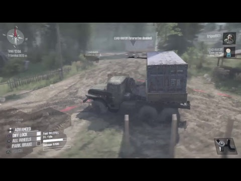 Mudrunner The valley with lead hacker