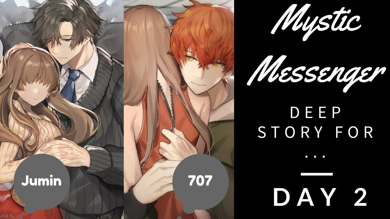 Mystic Messenger Day 2 Deep Story Jumin And 707 Youtube