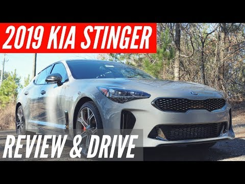 2019 Kia Stinger Review - Plus Exhaust Note and Drive
