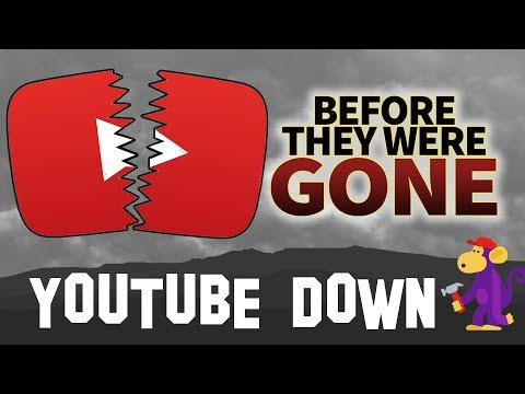 YouTube Shut Down Before They Were GONE & Huge Channel Announcement