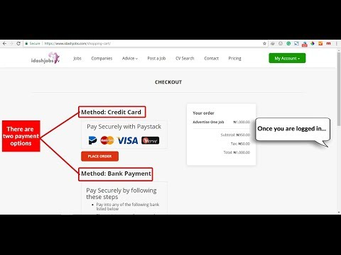 How to Make Fast and Secure Online Payments on Idashjobs.com