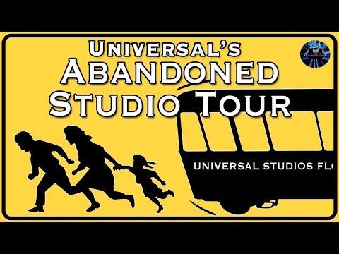 Yesterworld: The Short-Lived & Abandoned Tram Tour At Universal Studios Orlando Florida