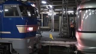 上野-札幌間を週3往復運転している、寝台特急カシオペア。 津軽海峡線内...
