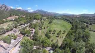 Camping Saint Clair à Moustiers Sainte Marie, Alpes de Haute Provence
