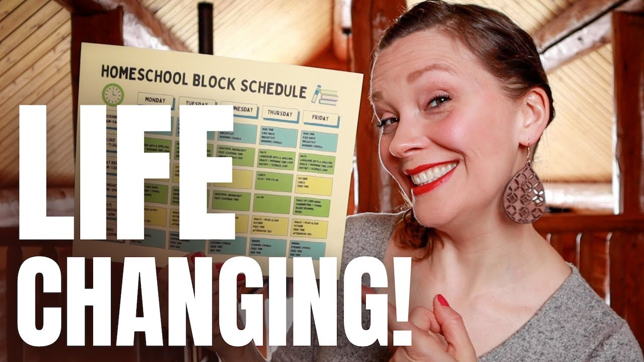 LIFE-CHANGING Homeschool Routine | Time Blocking Schedule For Homeschool