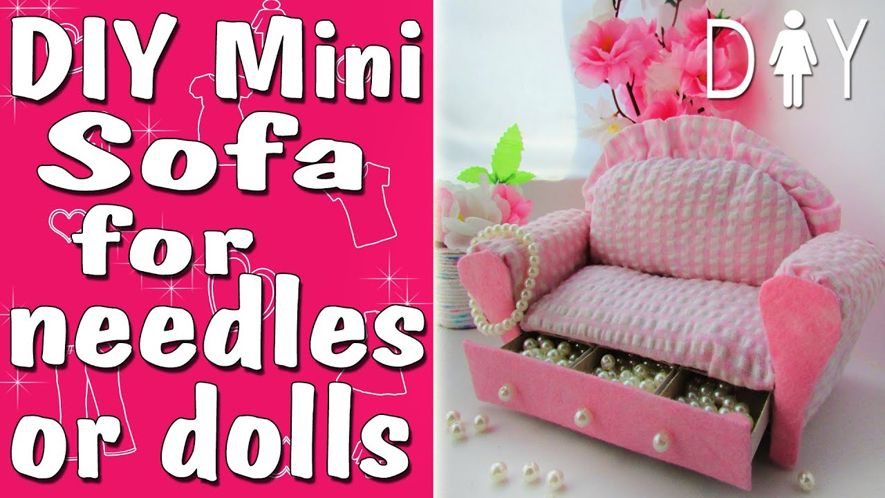 barbie furniture diy. Doll Furniture Or The Needle Bar DIY Tuttorial | How To Make Barbie Diy I