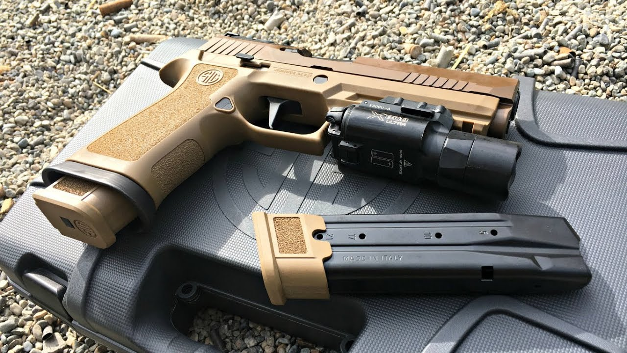 1st Look: Sig P320 X5 Coyote