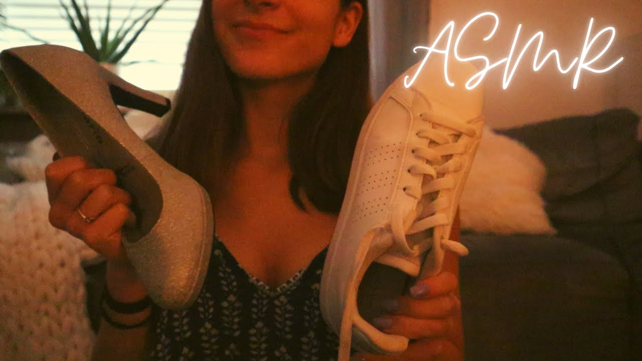 ASMR | Shoe Tapping and Scratching (My Shoe Collection)