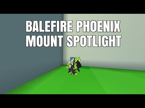 Balefire Phoenix   Trove Mount Spotlight