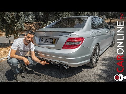 +650 cv Mercedes C63 AMG | V8 + Compressor = LOUCURA! [Review Portugal]