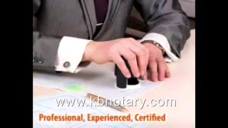 Mobile Notary Public Santa Monica - Los Angeles (310) 386-1236