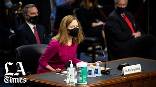 WATCH: Democrats seek to make Amy Coney Barrett confirmation hearing about healthcare The Senate Judiciary Committee confirmation hearing of Judge Amy Coney Barrett began Monday with a sharp emphasis by Democrats on what her ..., From YouTubeVideos