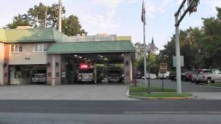 Hillsdale Fire Department Responding in HD