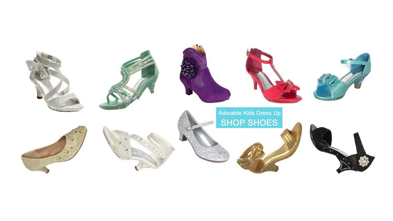 high heels for 7 year olds, little