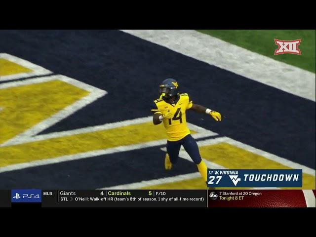 Kansas State vs West Virginia Football Highlights