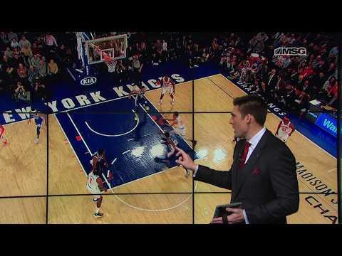 Wally Wall: DeAndre Jordan as a Point Center | New York Knicks Postgame