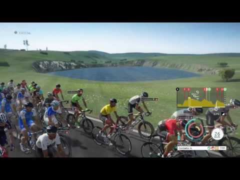 Tour de France 2017: Laissac-Sévérac l'Église / Le Puy-en-Velay, Stage 15, Trek Segafredo, Contador
