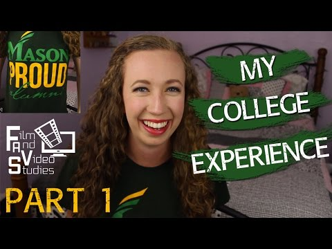 My College Experience: Choosing GMU & My Major | Curlyhairlove