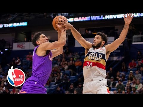 Pelicans' timeout snafu hands wins to Suns in overtime | NBA Highlights