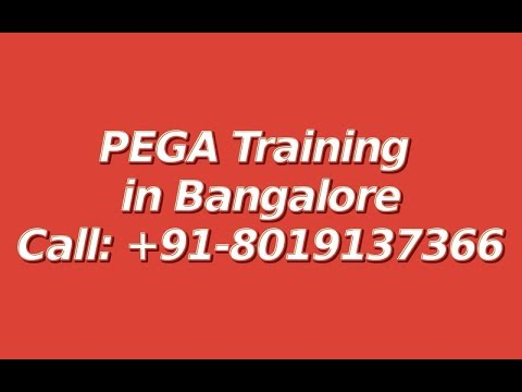 PEGA Training in Bangalore