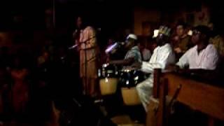 joni haastrup performs with ck ladzekpo at ashkenaz 53009