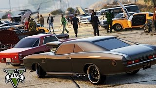 GTA 5 - Oldtimer Car Meet !