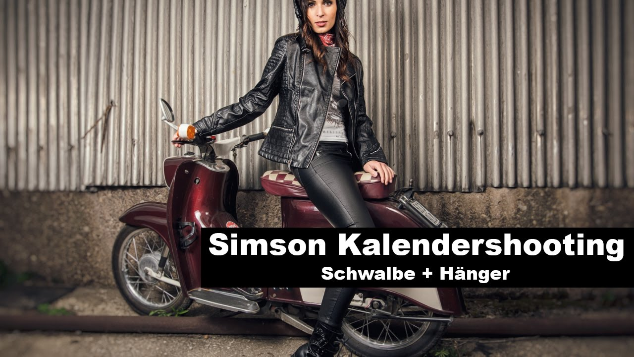 simson kalendershooting 2 schwalbe h nger youtube. Black Bedroom Furniture Sets. Home Design Ideas
